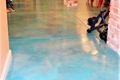 colored interior floor atlanta