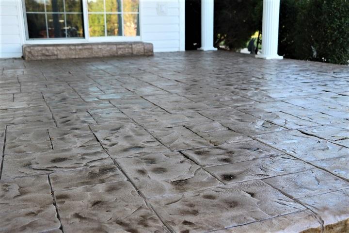 stained concrete patio atlanta