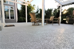 spray knockdown finish patio atlanta