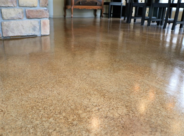 concrete interior floor polish atlanta
