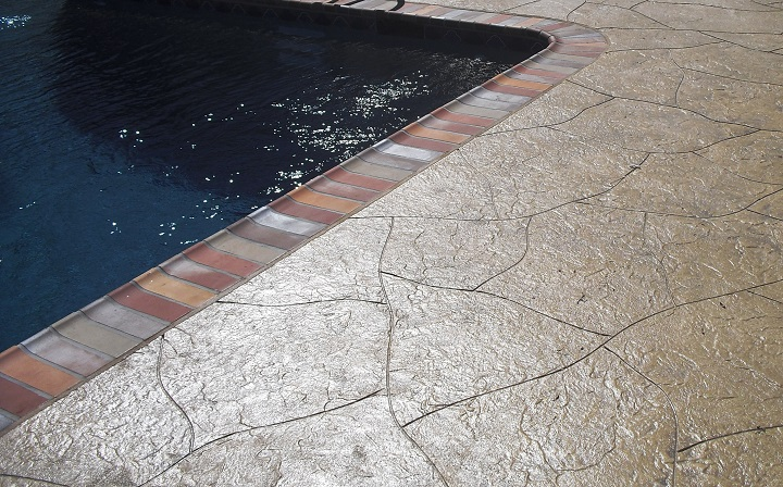 stamped concrete pool deck atlanta