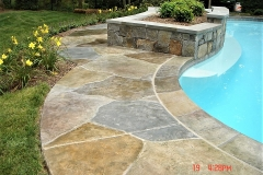 stained concrete pool deck atlanta
