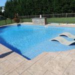 baja shelf swimming pool