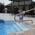 swimming pool railings