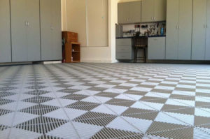 garage floor pattern