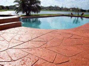 concrete pool deck repair