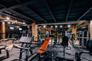 gym essentials stamped concrete atlanta