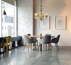 lobby commercial concrete floor atlanta